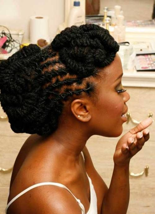 Natural Black Hairstyles Protective Women With Short Black