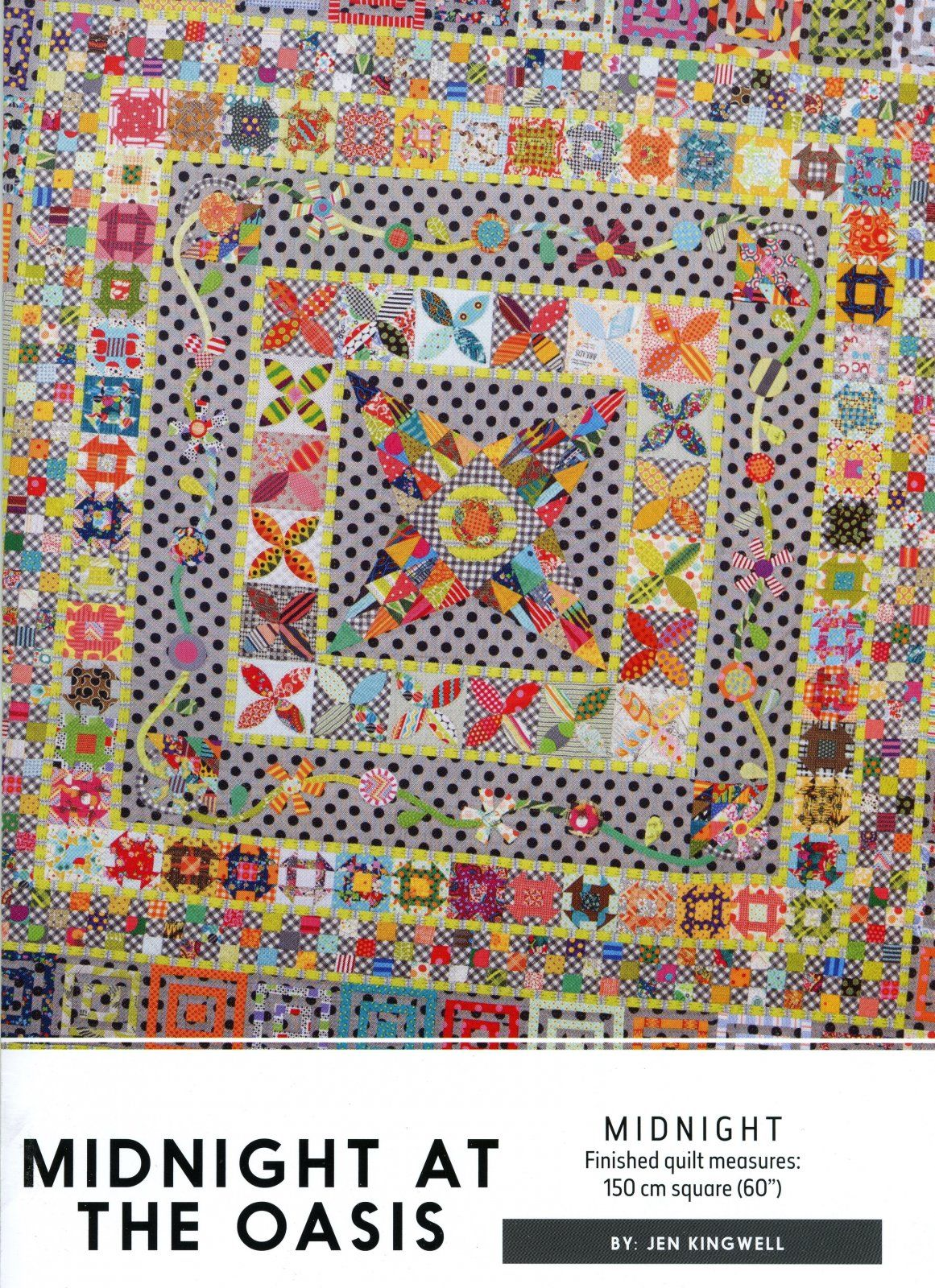 Midnight at the Oasis by Jen Kingwell Designs | Jen Kingwell ... : quilts by jen - Adamdwight.com