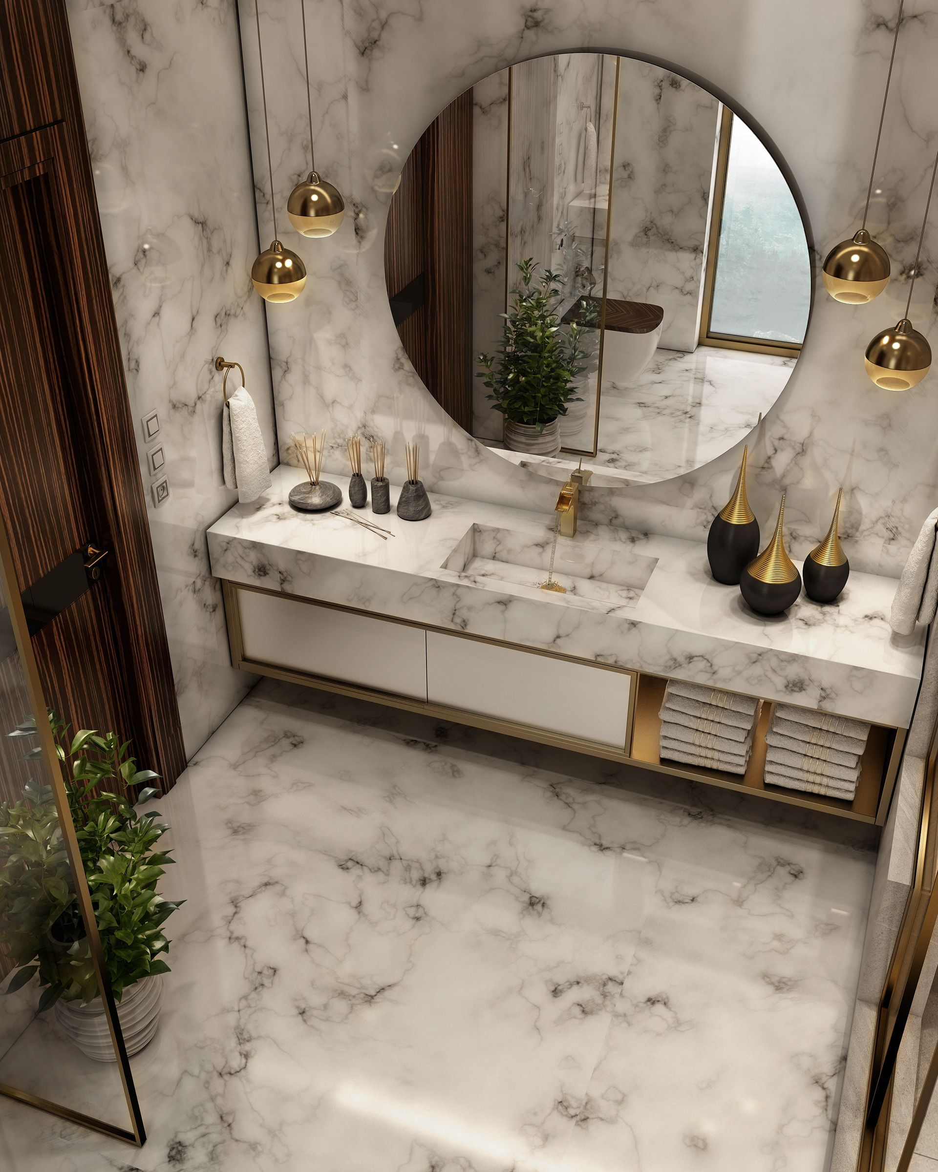 Photo of Luxuriöses Badezimmer