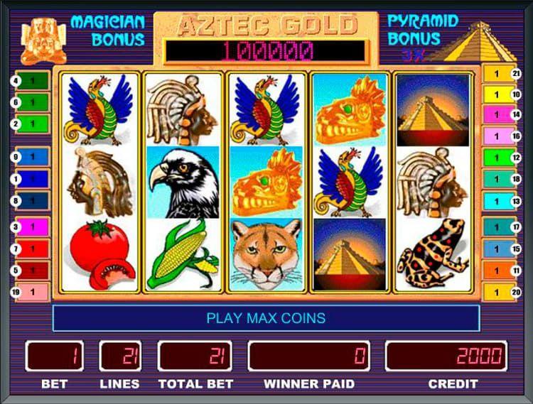 ігрові автоматы золото ацтеків