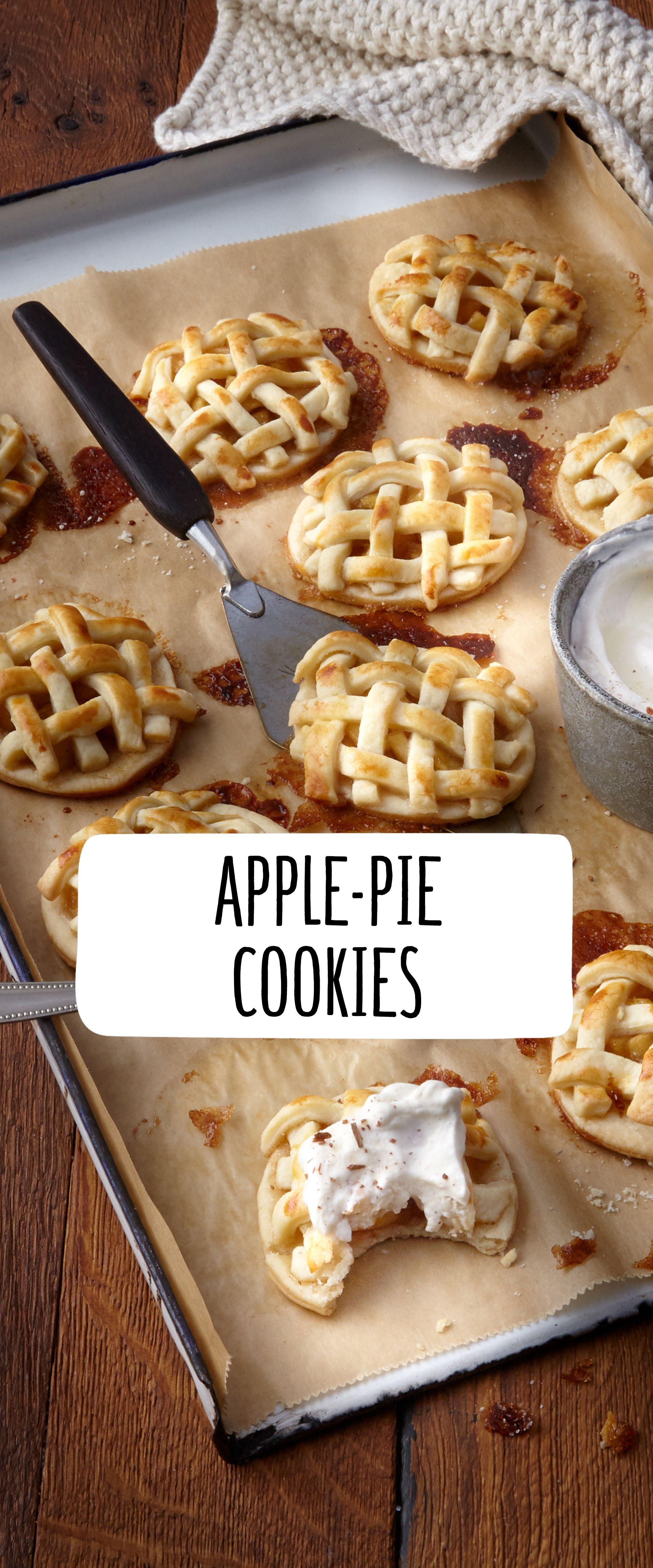 Apple Pie Cookies #REWE #Cookies #applepie