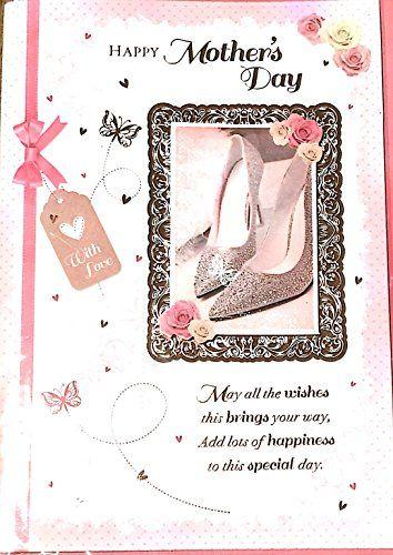 Happy Mother S Day Bm 39571 The Big Card Company Https Www Amazon Co Uk Dp B06xkfwqs4 Ref Cm Sw R Pi Dp X Rkxxyb1pq3cfc Happy Mothers Day Mothers Day Happy