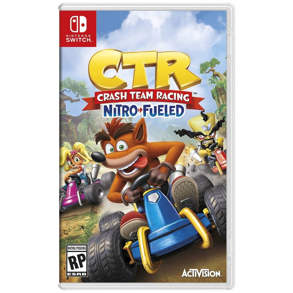 Crash Team Racing Nitro Fueled Nintendo Switch in 2020