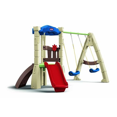 Little Tikes Lookout Swing Set   Outdoor toys for toddlers ...