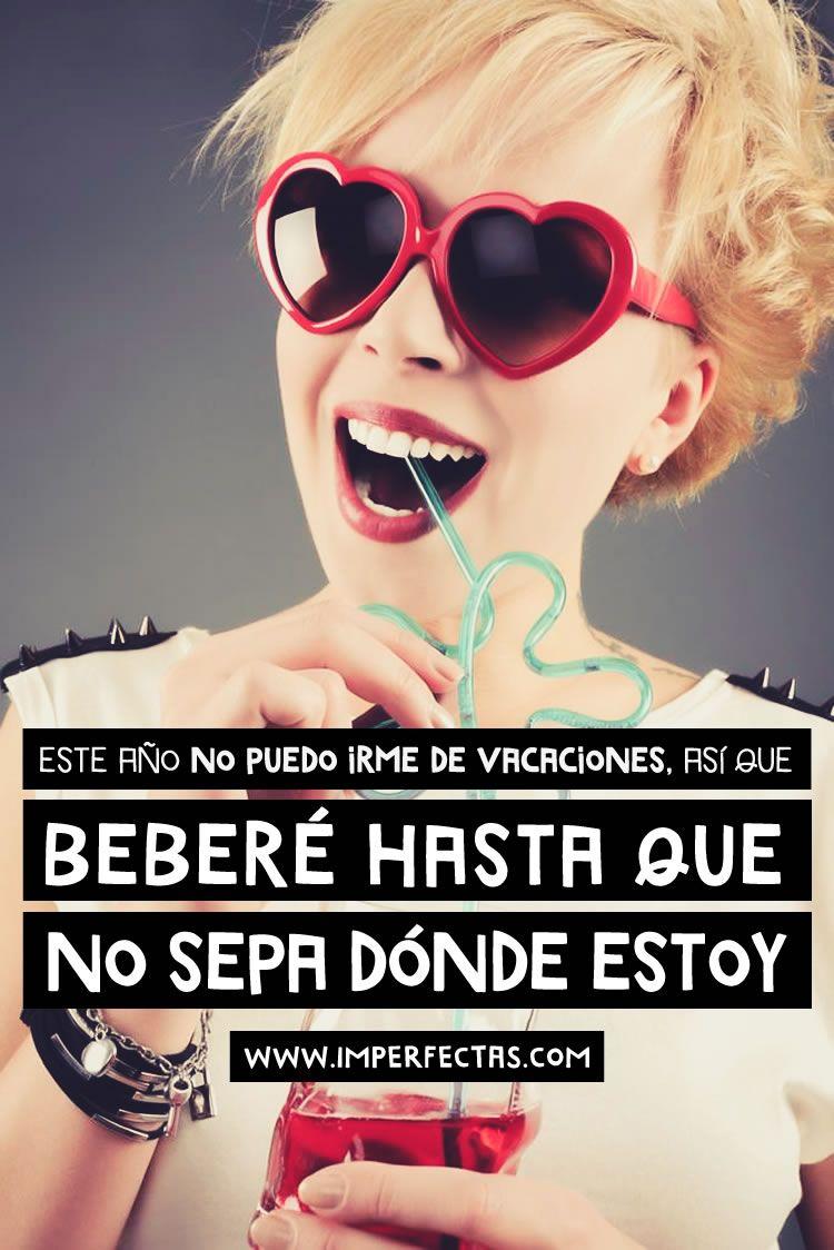 """Vacaciones """"in situ"""" #imperfectasomos #mujeresreales #imperfectas #vacaciones #humor #mujeres"""