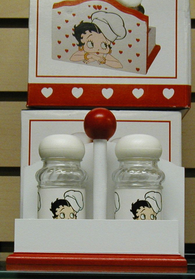 Kitchen Goods Betty Boop Items And Some Other Decor Item Fruit