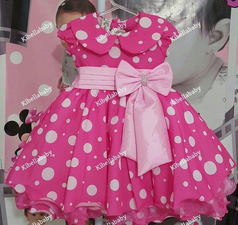Vestido Minnie Rosa KIBELLABABY