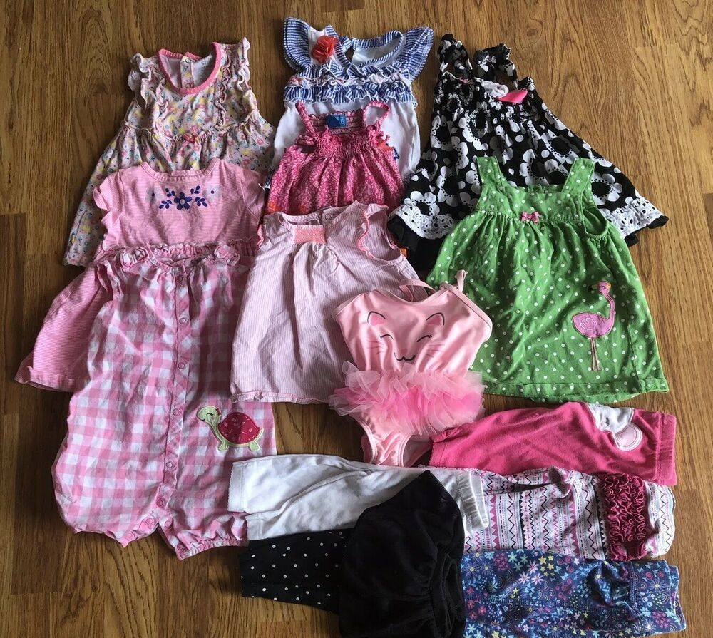 best sell los angeles store 14 Piece Baby Girl Clothes 6-9 Months -summer #fashion ...