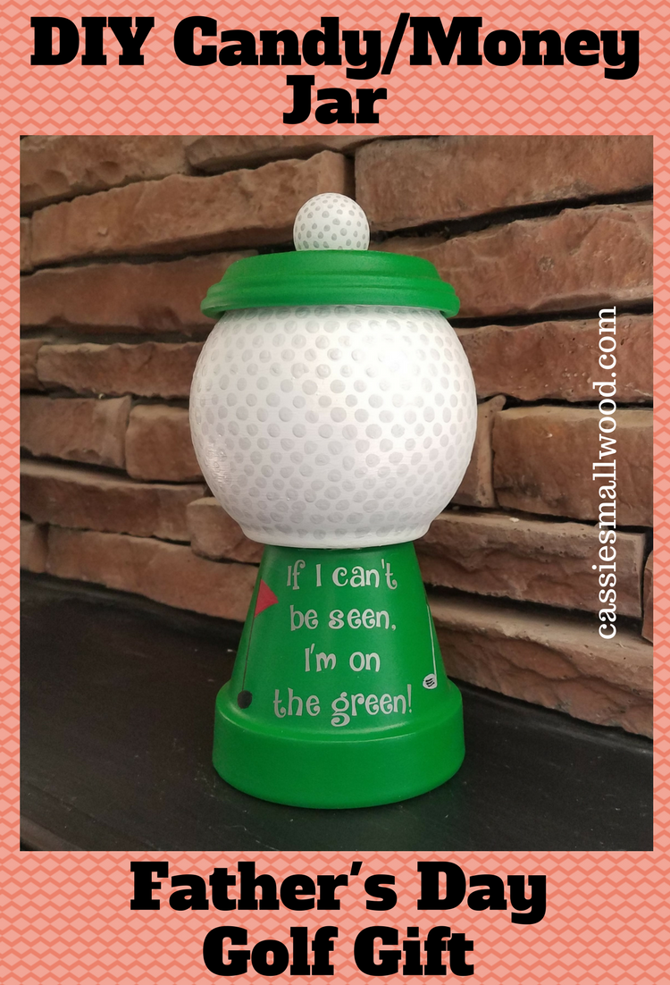 DIY Golf Gift For Dad | Crafts | Gifts for dad, Golf Gifts, Fathers day