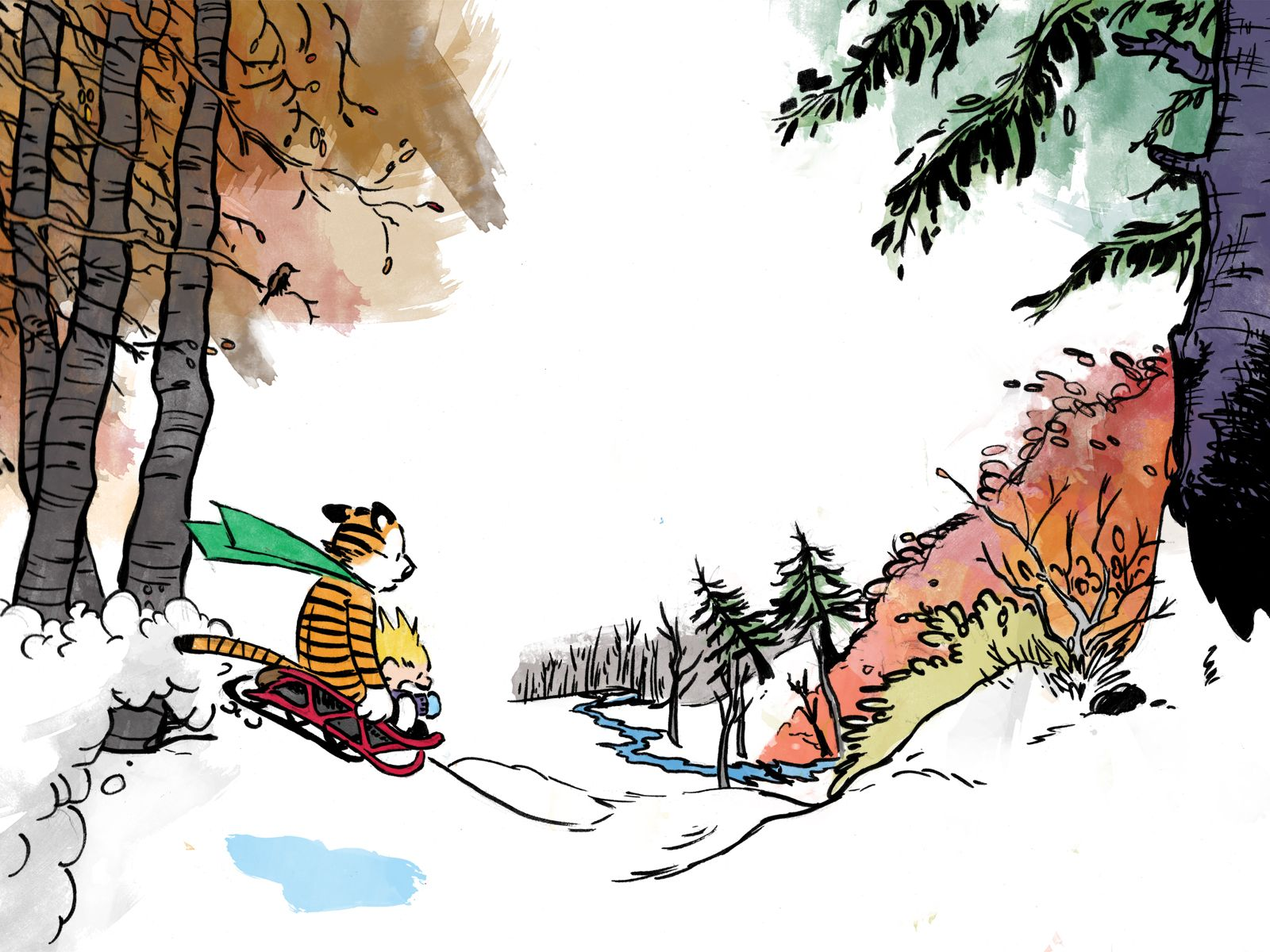 Image Result For Calvin And Hobbes Christmas Calvin And Hobbes