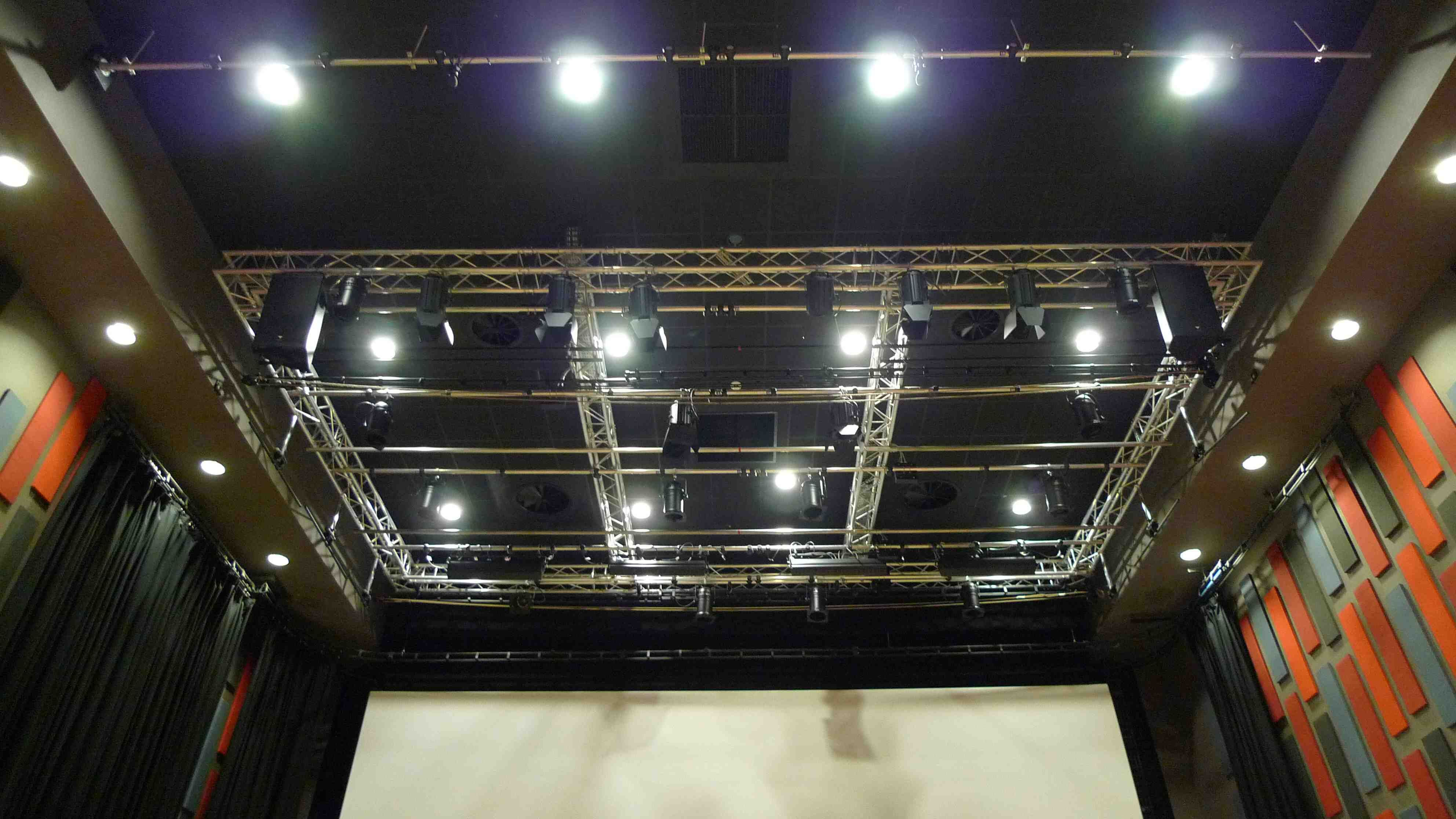 This Is A Lighting Grid In Theatre And My Major