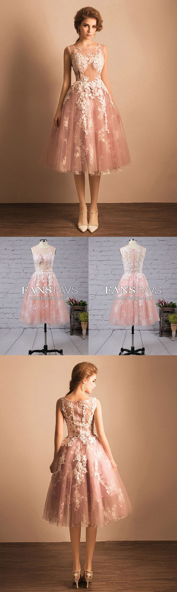 Vintage prom dresses lacetealength homecoming dresses sleeveless