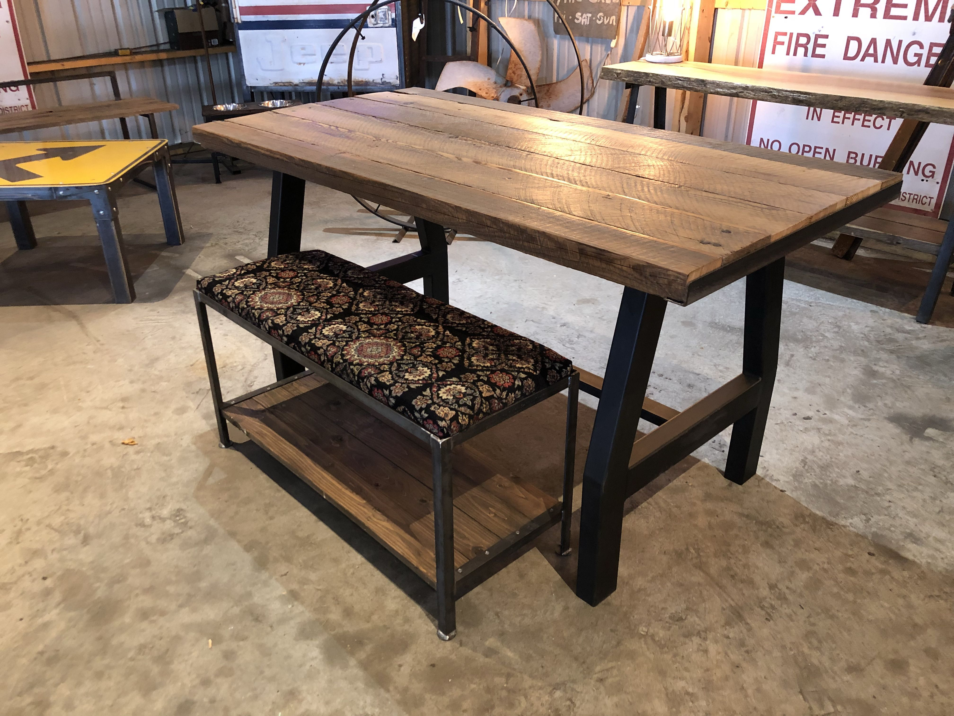Built by southern boy trading co industrial farmhouse