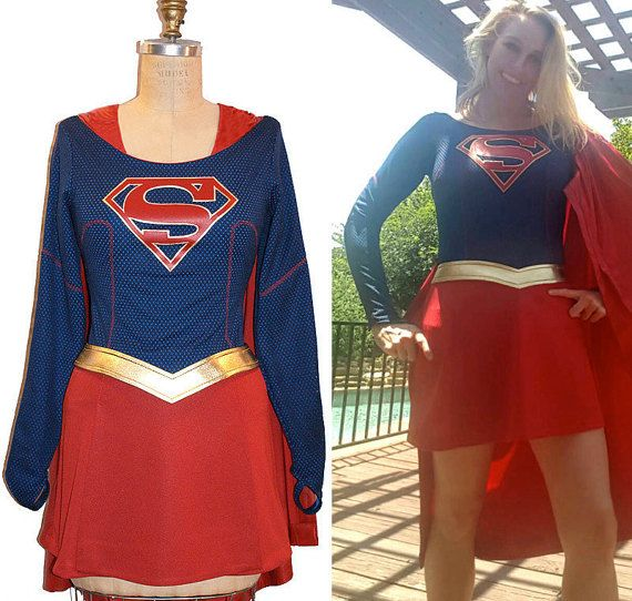 Home Fast Deliver Super Woman Sexy Supergirl Cosplay Costumes Fancy Dress With Boots Girls Superman Battle Suit Halloween Cosplay Costumes