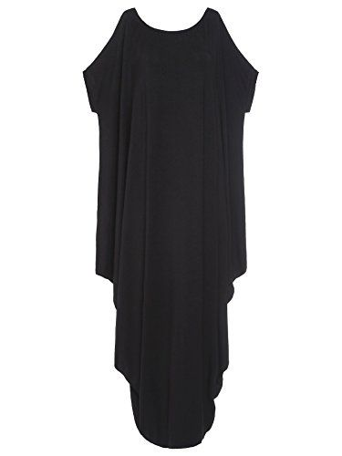 b765eb1c34e Verdusa Women s Boho One Off Shoulder Caftan Sleeve Harem Maxi Dress at  Amazon Women s Clothing store