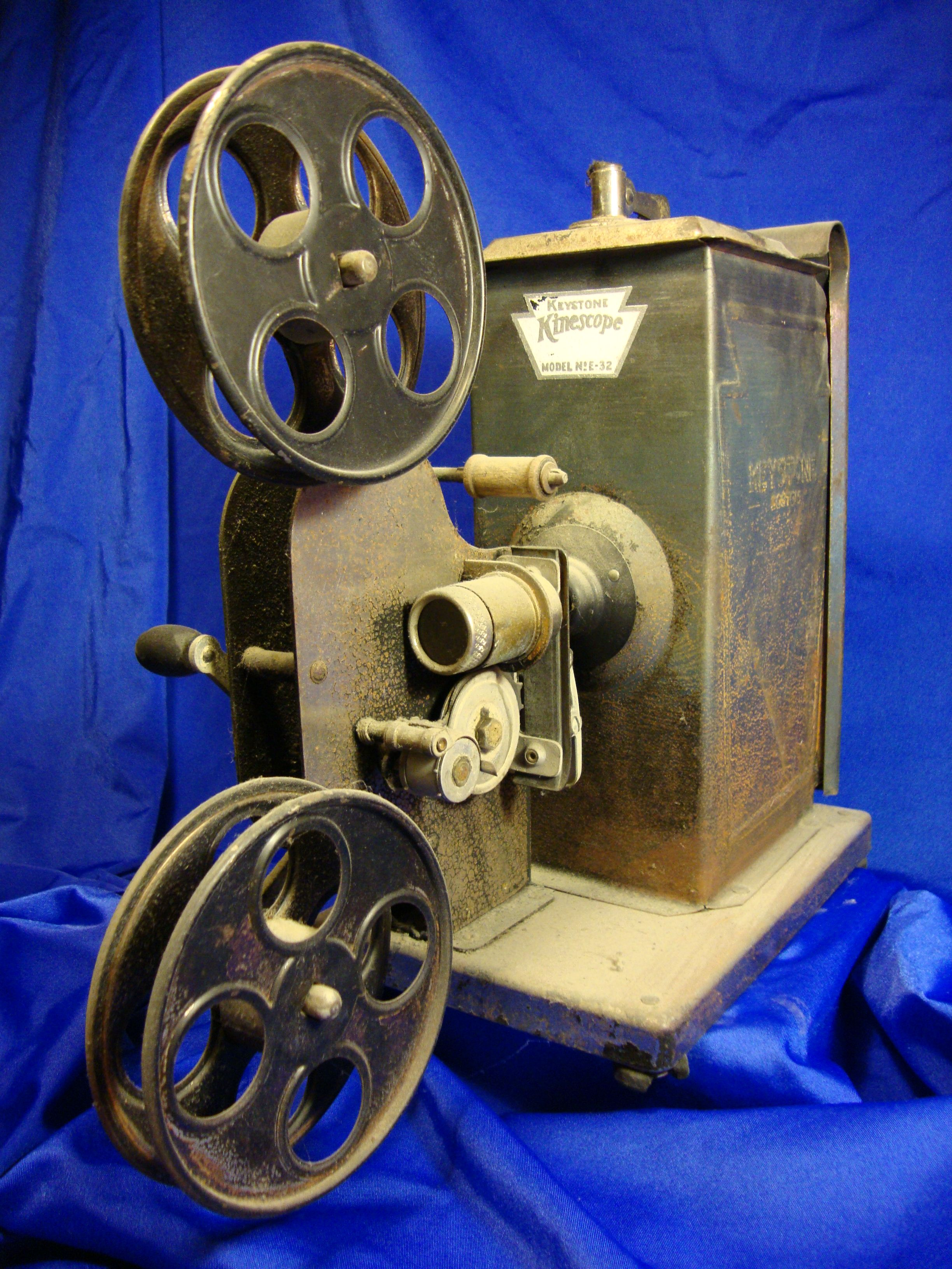 Keystone 16mm Film Projector - families ordered