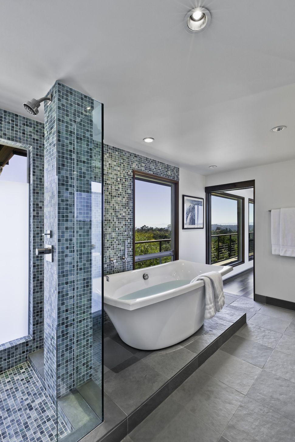 MidCentury Modern Residence Midcentury Modern Santa Barbara And - Bathroom remodeling santa barbara ca