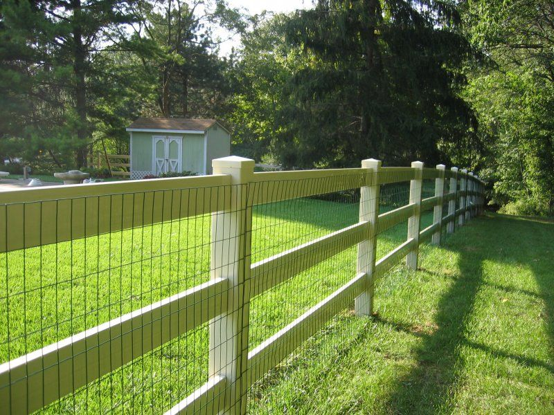 Lowes 3 Rail Wooden Fence Split Rail Fencing Dixie Fence 423