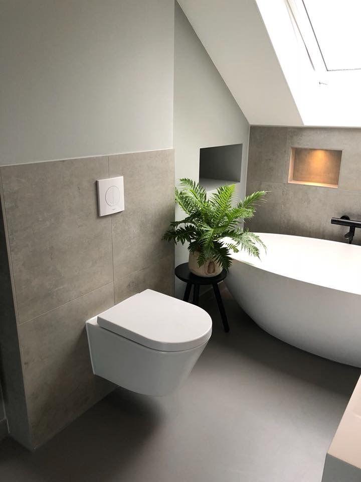Design Badezimmer Dachschr臠e