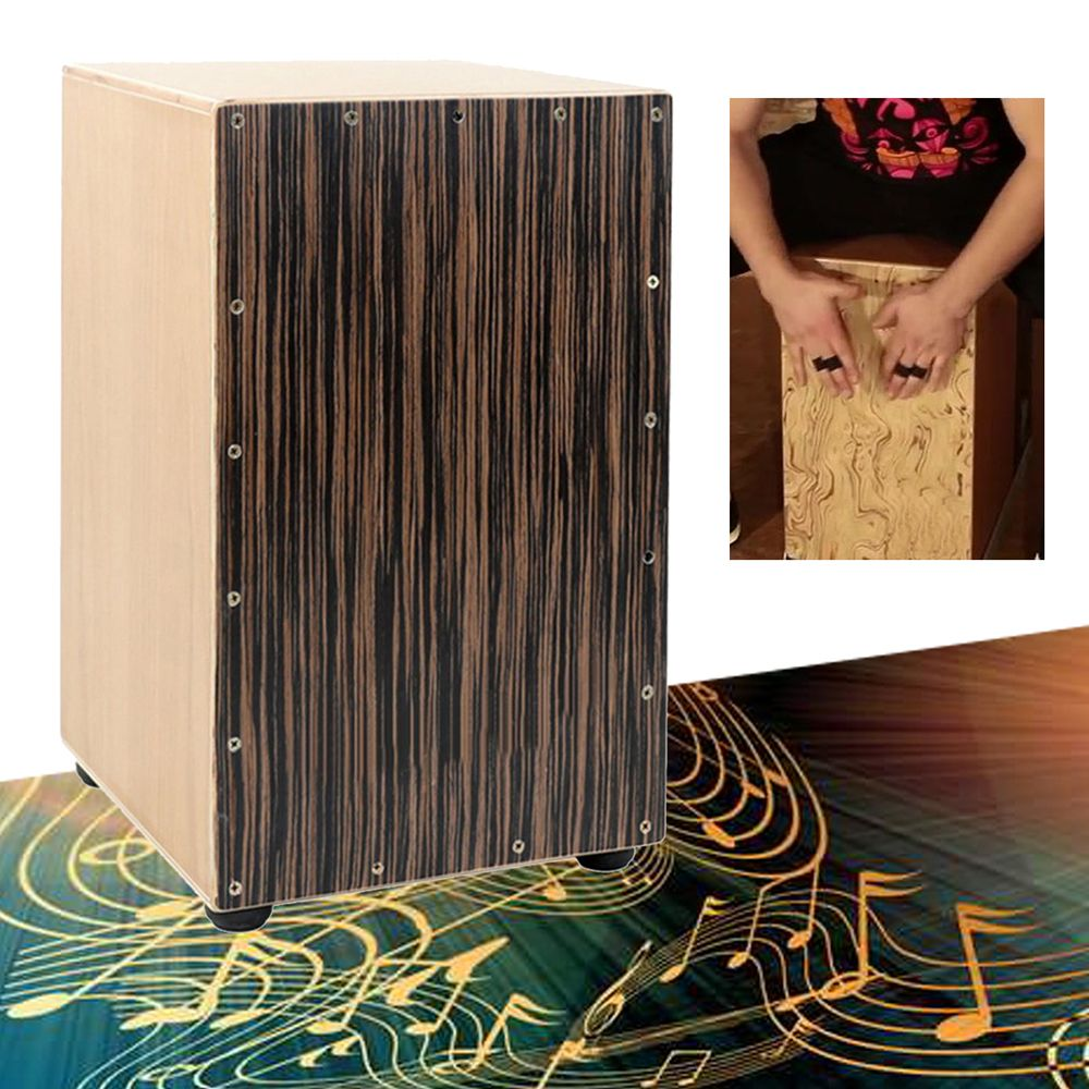 Mano Percussion MP985M Cajon Maple Musical Drum Finish AMS