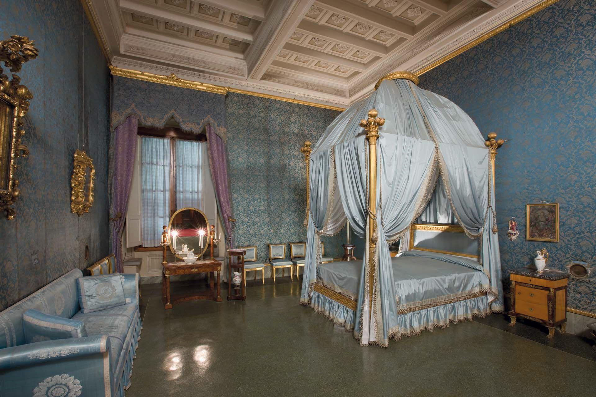 Camere Da Letto Firenze.Villa Della Petraia Firenze La Camera Da Letto Cosiddetta