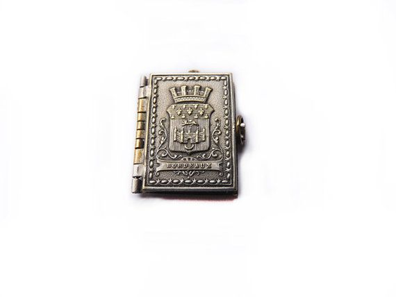 Antique Miniature book from 1907  Bordeaux by FrenchVintageShop, €15.00