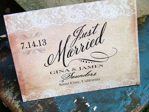17 best images about Wedding Announcements on Pinterest ...