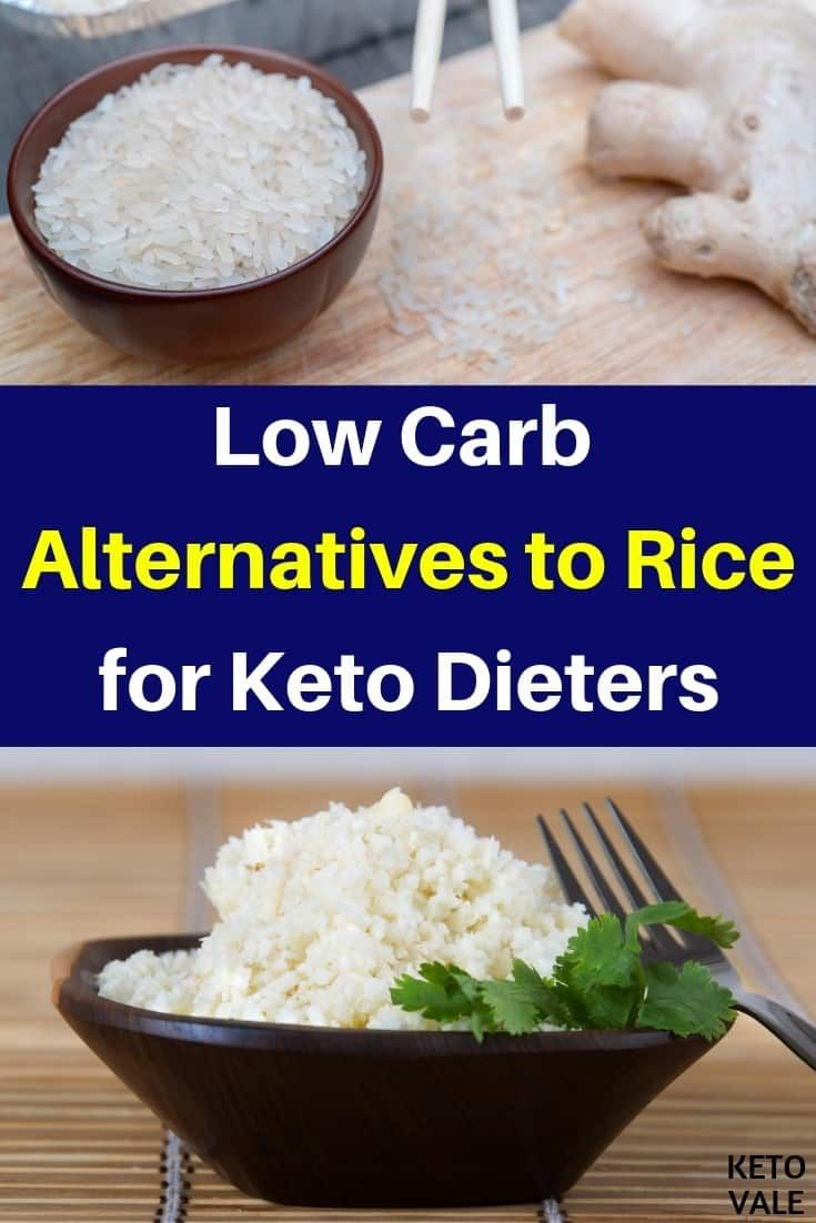 how bad is rice for the keto diet?