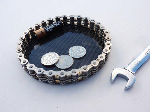 Bikers carbon fibre fiber desk accessory office by LedonGifts, $45.00