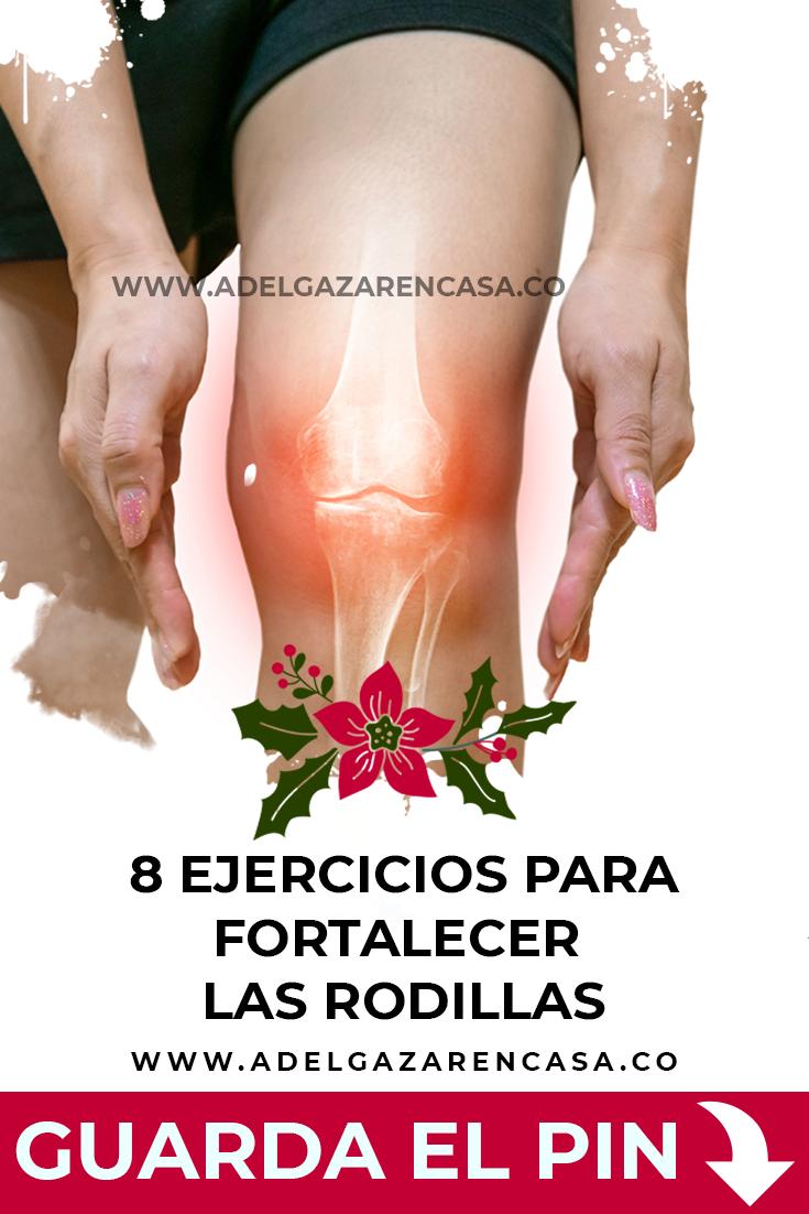8 ejercicios para fortalecer las rodillas