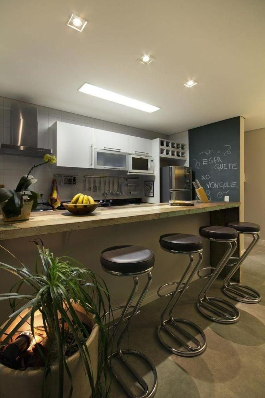 Parede Lousa Ideias Para Sala Cozinha E Espa O Gourmet Parede