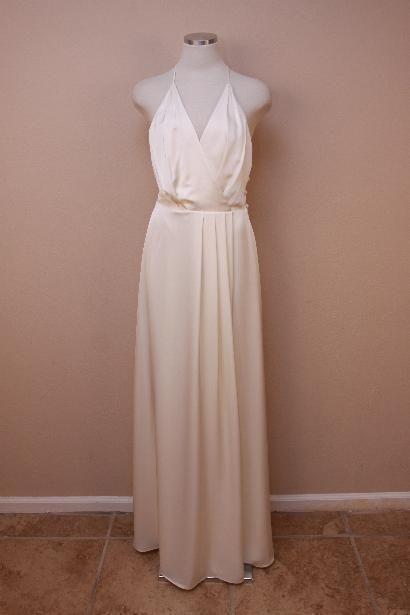 Storesebay The Paisley Petunia 550 J Crew Manuela Gown 4 Ivory Long Dress Party Formal Bride Wedding JCrew Sheath
