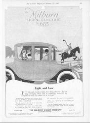 1917 Milburn Electric Auto
