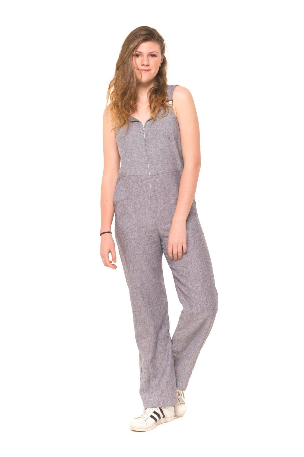 6dc74c248d57 The Bronte Jumpsuit is relaxed and edgy. Made with 55% Linen and 45 ...