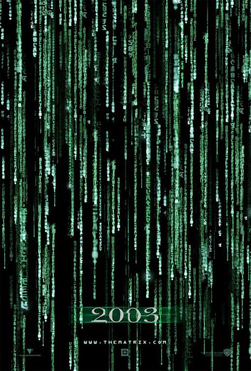The Matrix Reloaded Movie Poster Internet Movie Poster Awards