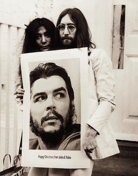 John Yoko And Che Pero Q Mas Queres Che Guevara Che Guevara Art Che Guevara Quotes