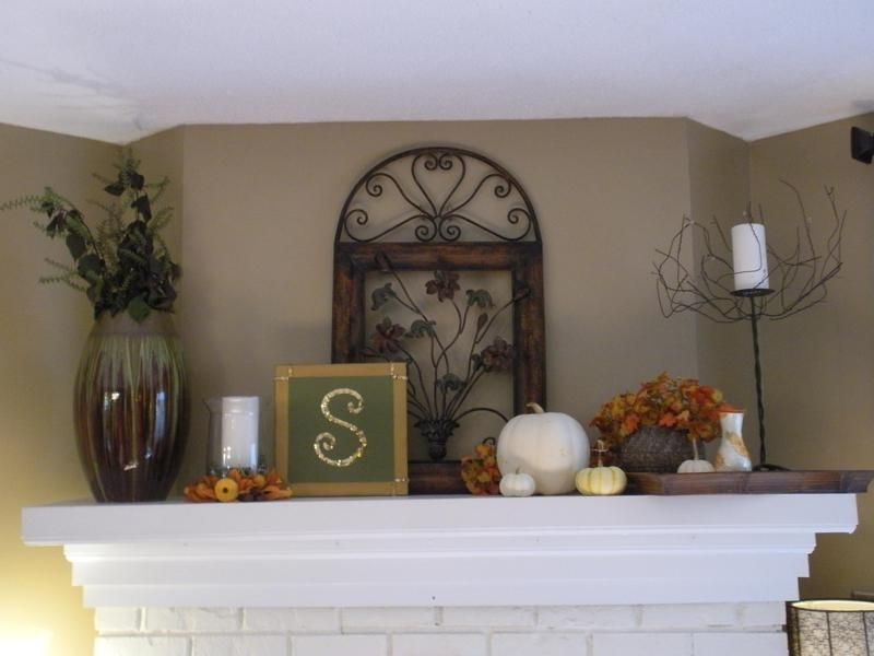 Decorating Paint Decorating Ideas For Living Rooms Fall Mantel ...