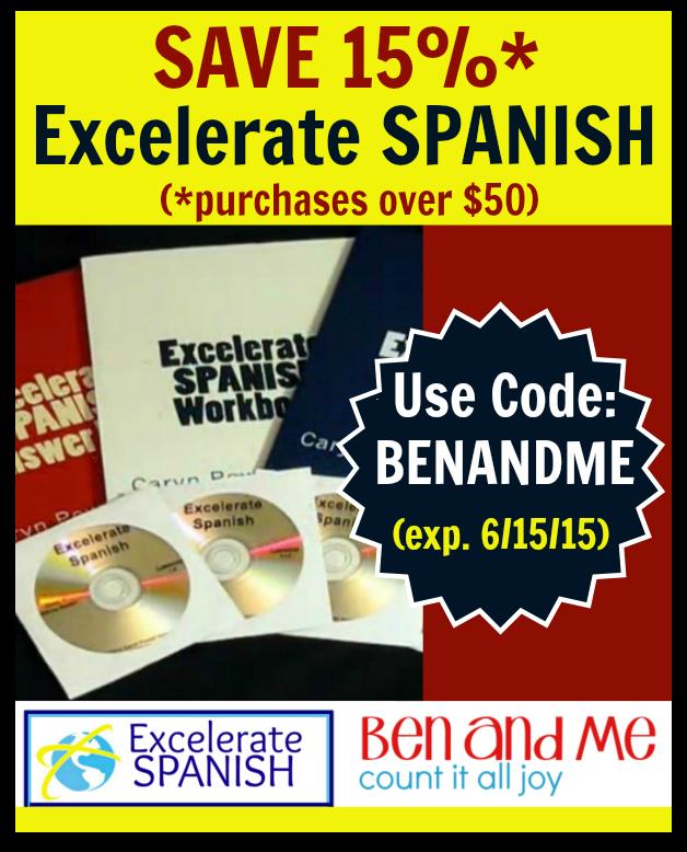 Excelerate SPANISH Homeschool Spanish Curriculum