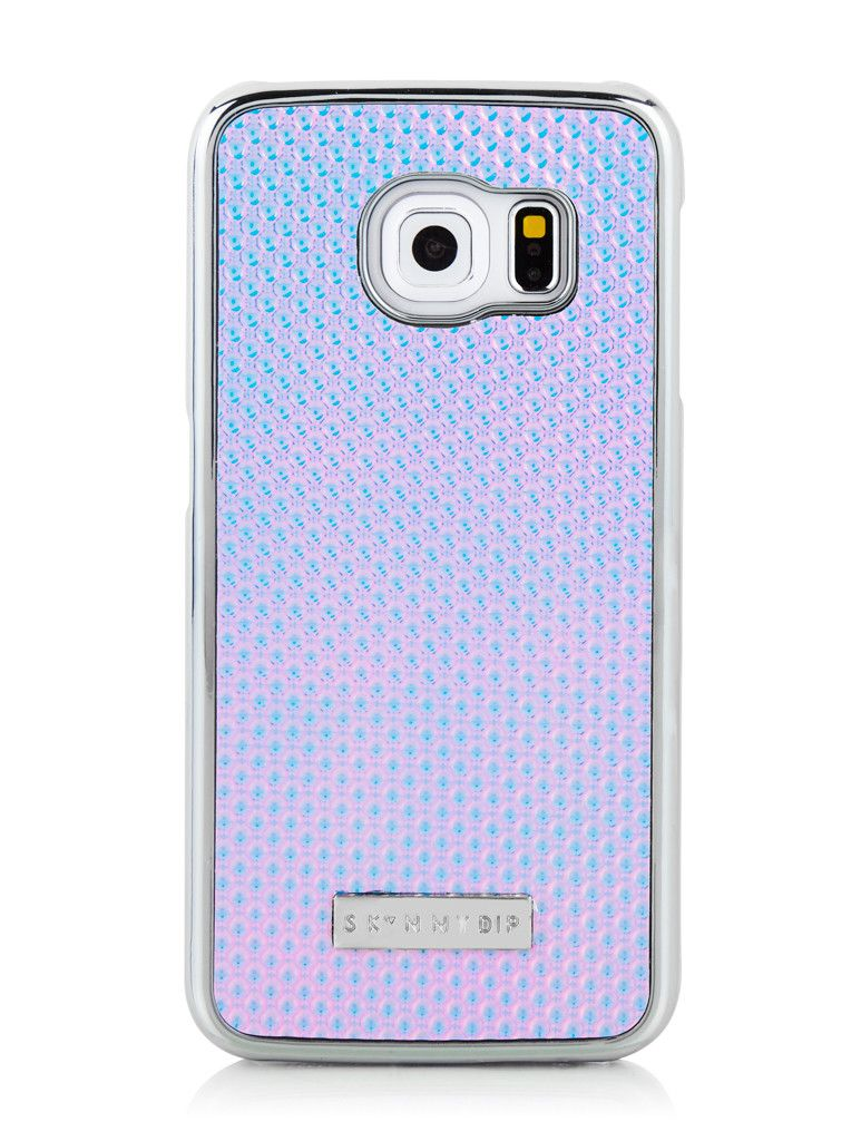 outlet store a86d7 7701a Skinnydip Samsung S6 Edge Holo Cat Case | technology | Phone cases ...