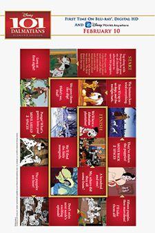 101 Dalmatians Board Game 101 Dalmatians Disney Printables