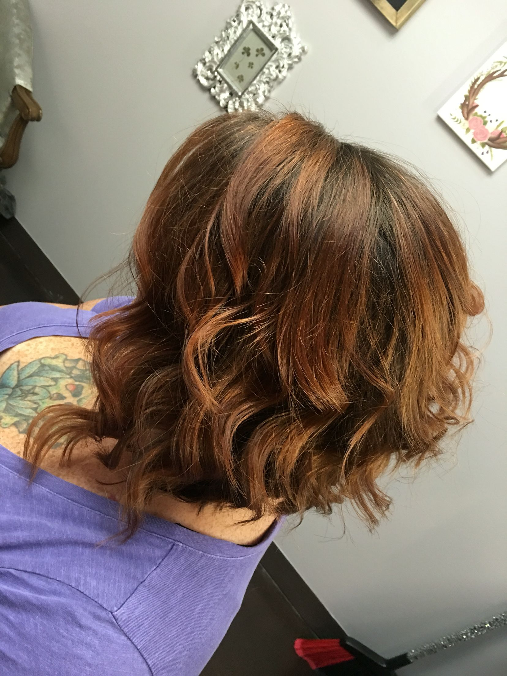 Heavy Highlite With A Dark Kaboo I Want This Color Hair Its Coming Soon