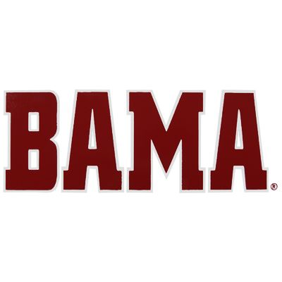 University of alabama logo images alabama decal bama for Alabama football mural