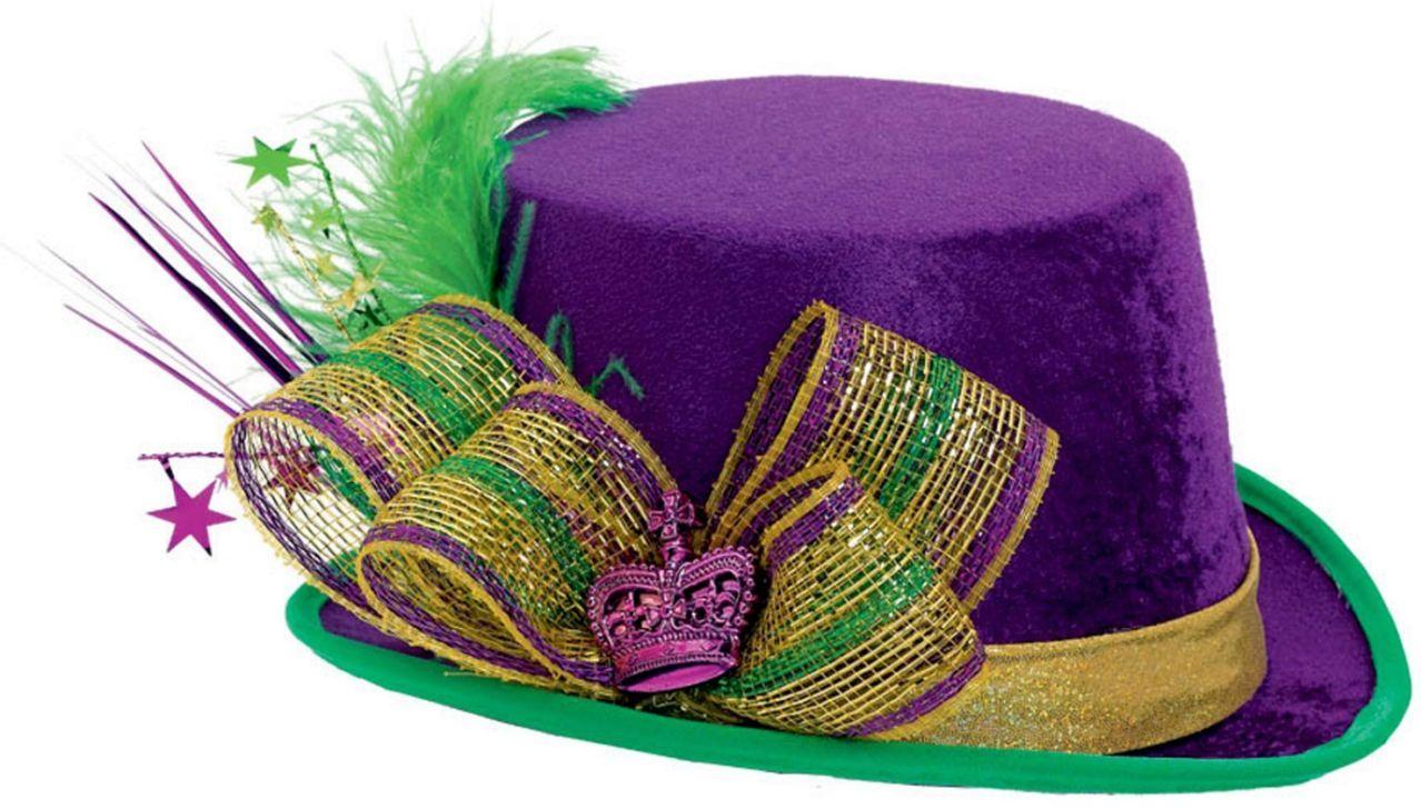 Mardi Gras Top Adult Hat Deluxe | Carnavales, Fiestas temáticas y ...