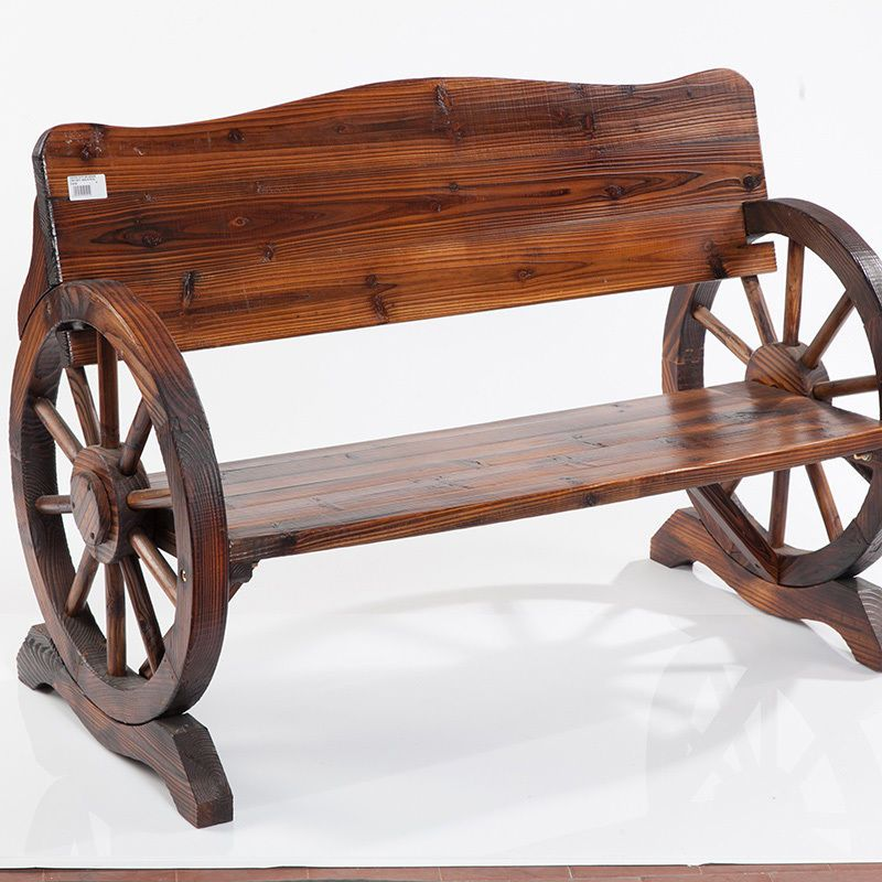 Panchina in legno ruota carro #wood #legno #noitools Legno Wood