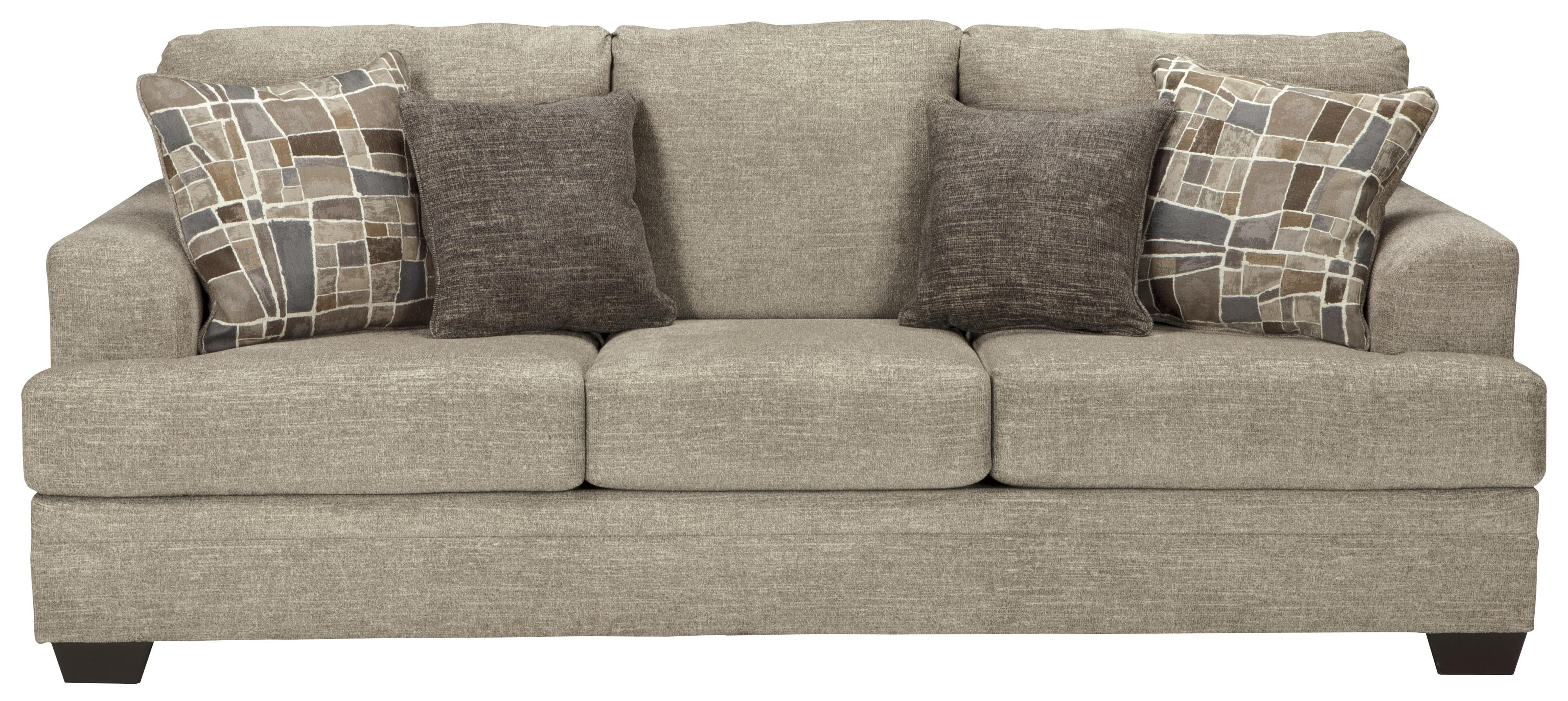 Incredible Barrish Contemporary Queen Sofa Sleeper With Flared Arms By Machost Co Dining Chair Design Ideas Machostcouk