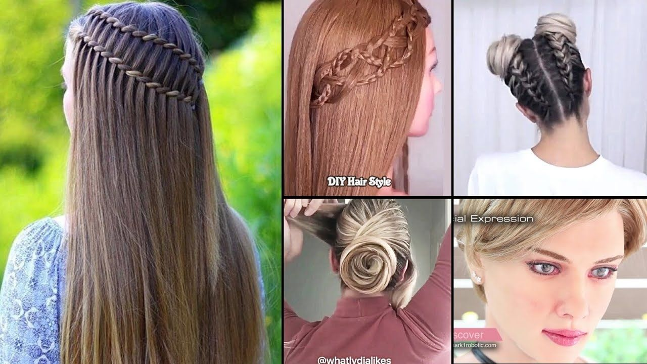 Stylish Easy Hairstyles to Do at Home in 2020 | Easy hairstyles, Cool easy hairstyles, Hair styles