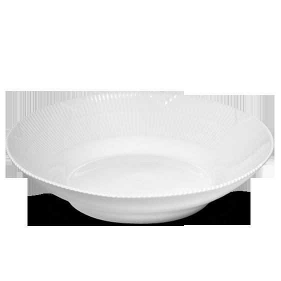 Ønsker mig Pastatallerkner - hvide i White elements Frokosttallerkner, både med mønster og uden mønster (blå megamussel eller White elements) Alm. tallerkner megamussel