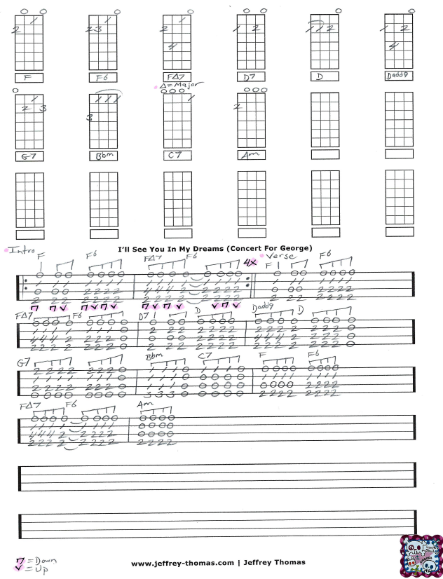 Ill See You In My Dreams Uke Chords Gauranimightywindfo