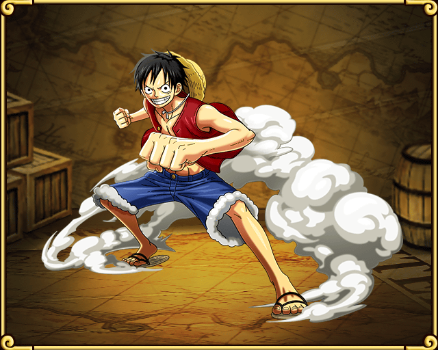 Monkey D Luffy Gum Gum Pistol One Piece Chapter One