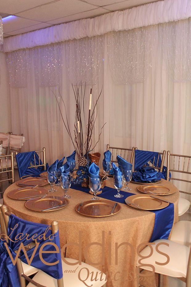 Wedding Tablescape Palacio De Los Presidentes Royalblue